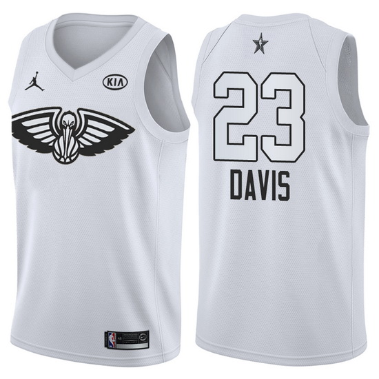 Canotte basket NBA bianco Anthony Davis 2018 All Star