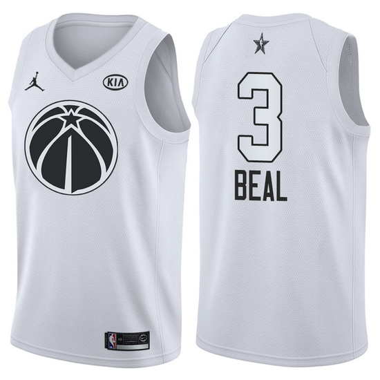 Canotte basket NBA bianco Bradley Beal 2018 All Star