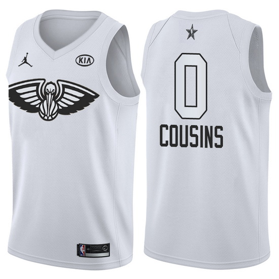 Canotte basket NBA bianco Demarcus Cousins 2018 All Star