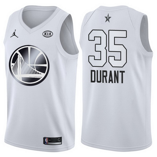Canotte basket NBA bianco Kevin Durant 2018 All Star