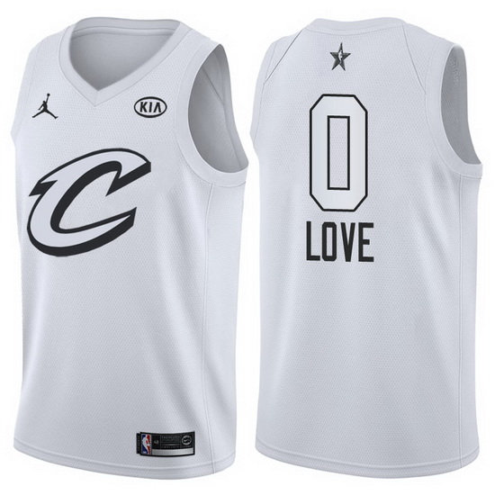Canotte basket NBA bianco Kevin Love 2018 All Star