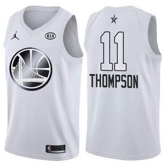 Canotte basket NBA bianco Klay Thompson 2018 All Star