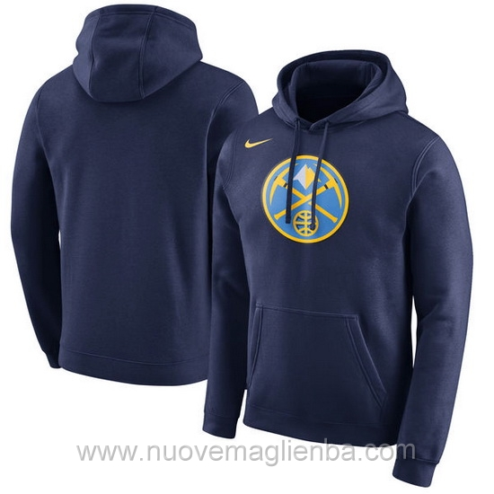 Felpe basket NBA Blu scuro Denver Nuggets poco prezzo