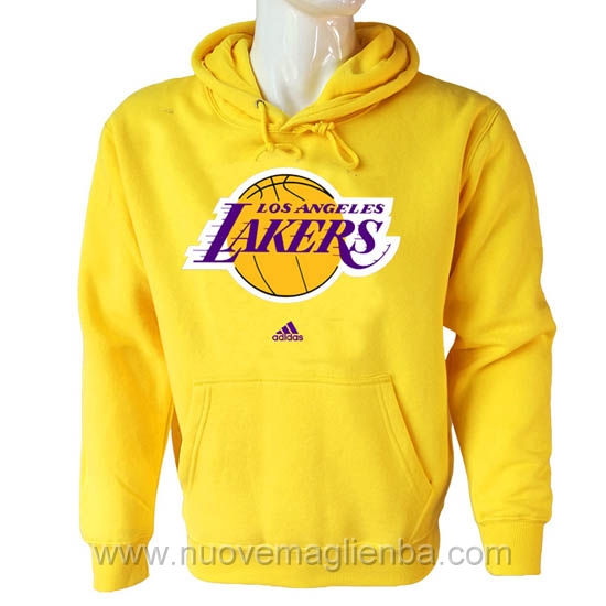 Felpe basket NBA Giallo Los Angeles Lakers poco prezzo