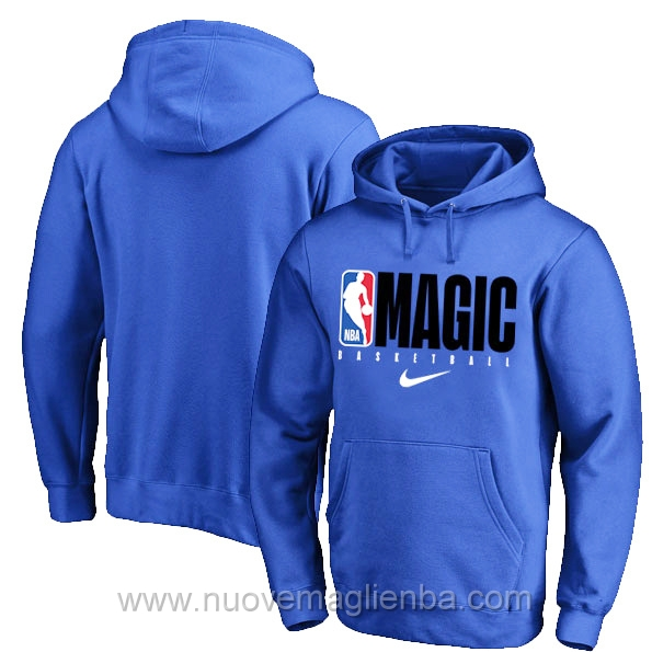 Felpe basket NBA blu Orlando Magic poco prezzo 2019-20