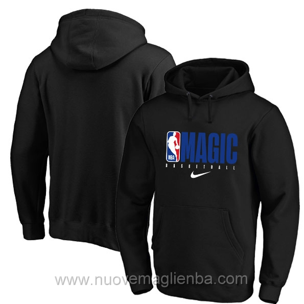 Felpe basket NBA nero Orlando Magic poco prezzo 2019-20