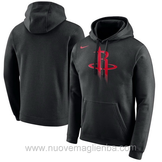 Felpe basket NBA nero QZ001ZQ Houston Rockets poco prezzo