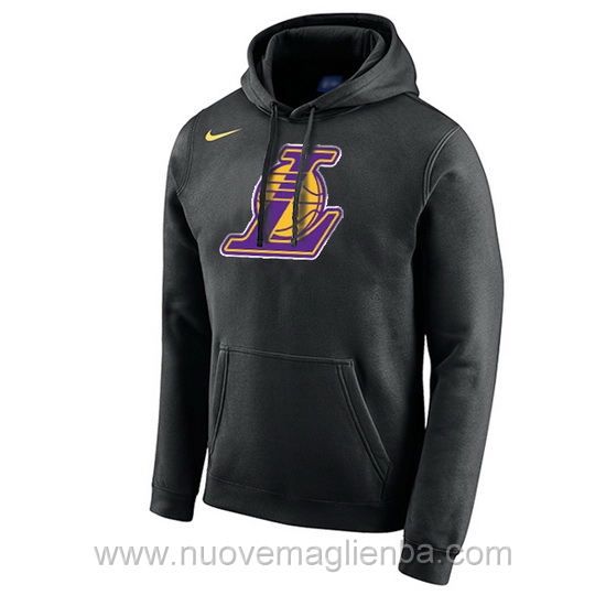 Felpe basket NBA nero QZ001ZQ Los Angeles Lakers poco prezzo