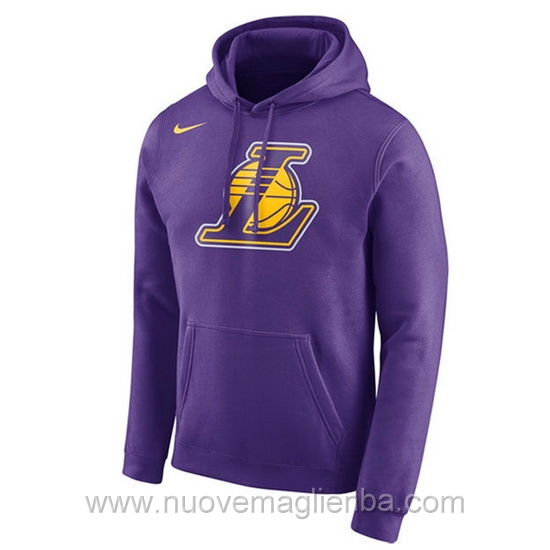 Felpe basket NBA porpora QZ001ZQ Los Angeles Lakers poco prezzo