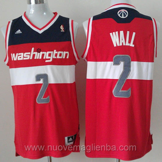 Maglie basket NBA rosso John Wall Washington Wizards