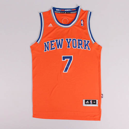 Maglie basket nba arancione Nickname Melo Carmelo Anthony New York Knicks