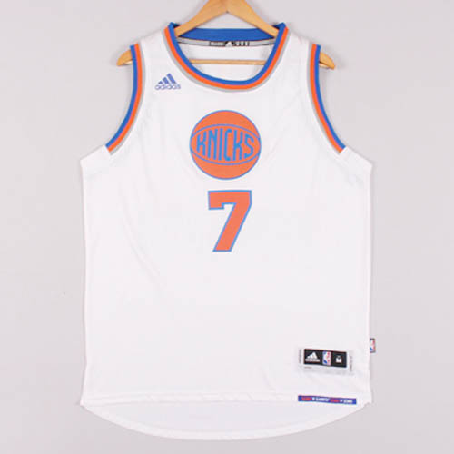 Maglie basket nba bianco Carmelo Anthony New York Knicks Christmas 2015