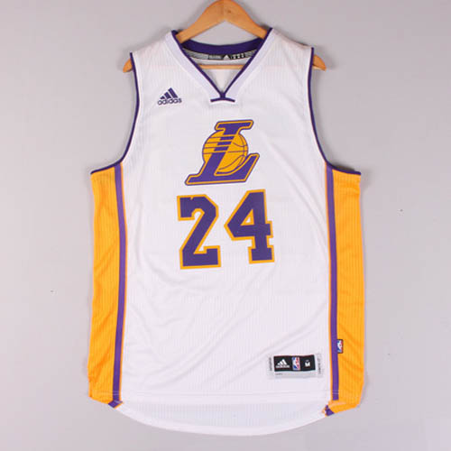 Maglie basket nba bianco Kobe Bryant Los Angeles Lakers Christmas 2015