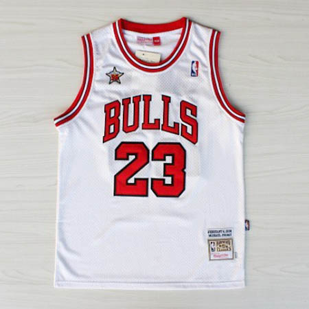 canotte basket NBA bianco Michael Jordan 1998 All Star