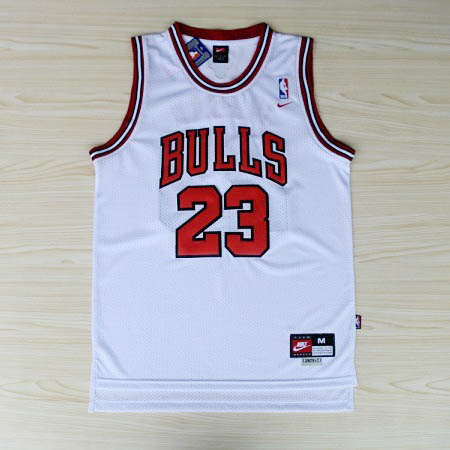 Maglie basket nba bianco Nickname Air Jordan Michael Jordan Chicago Bulls