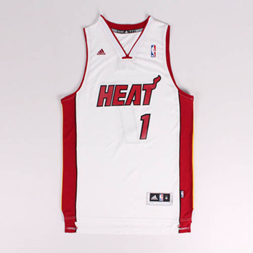 Maglie basket nba bianco Nickname CB Chris Bosh Miam Heat