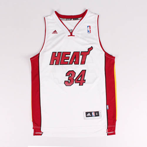 Maglie basket nba bianco Nickname J.shuttlesworth Ray Allen Miam Heat