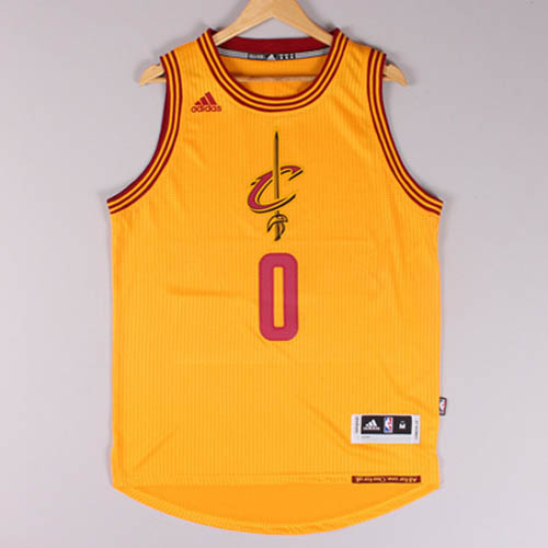 Maglie basket nba giallo Kevin Love Cleveland Cavaliers Christmas 2015