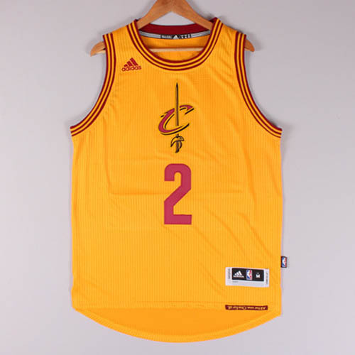Maglie basket nba giallo Kyrie Irving Cleveland Cavaliers Christmas 2015