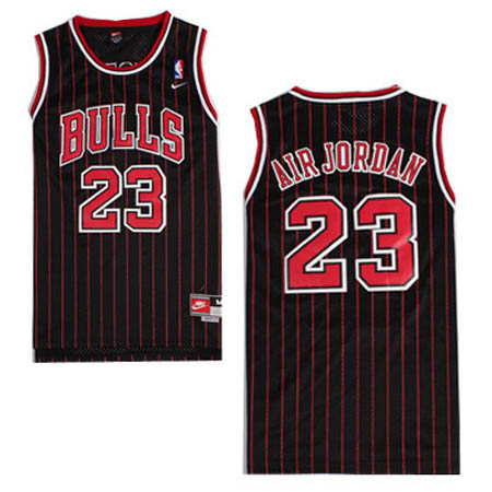 Maglie basket nba nero Nickname Air Jordan Michael Jordan Chicago Bulls