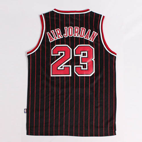 Maglie basket nba nero rosso Nickname Air Jordan Michael Jordan Chicago Bulls