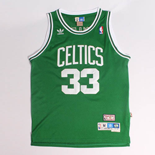 Maglie basket nba verde Nickname Larry Legend Larry Bird Boston Celtics