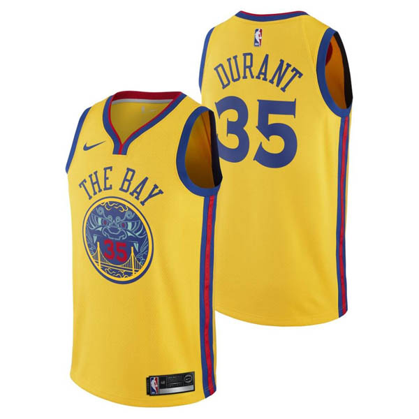 Maglie city swingman 2018 Kevin Durant Golden State Warriors