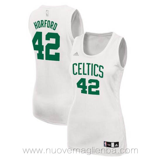 canotta basket donna bianco Alfred Horford Boston Celtics