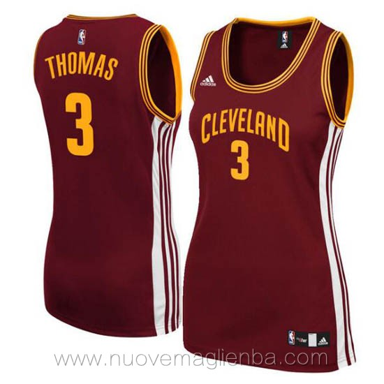 canotta basket donna rosso Isaiah Thomas Cleveland Cavaliers
