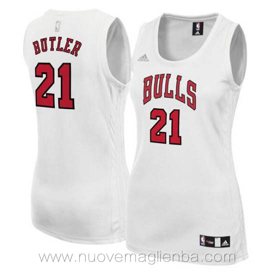 canotta basket donna bianco Jimmy Butler Chicago Bulls
