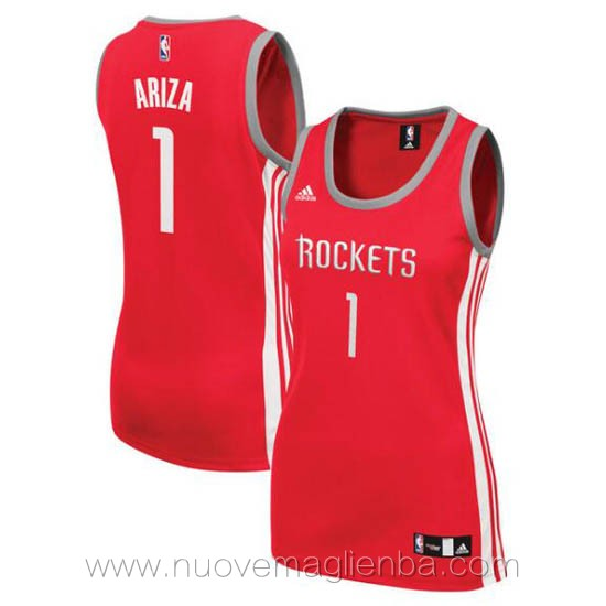 canotta basket donna rosso Trevor Ariza Houston Rockets