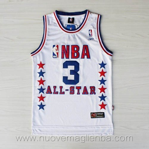 canotte basket NBA bianco Allen Iverson 2003 All Star