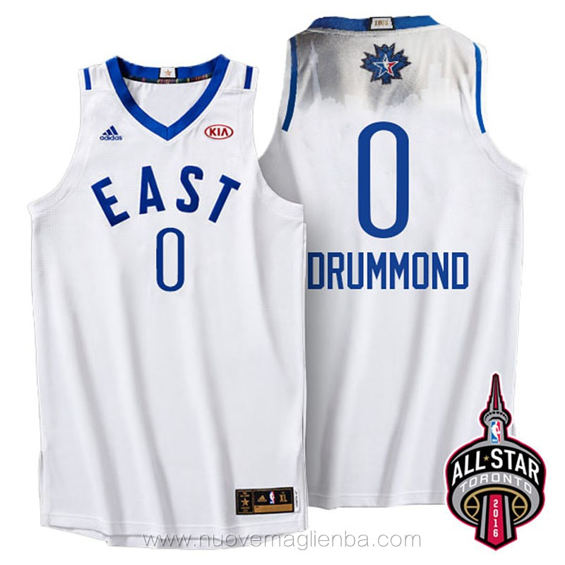 canotte basket NBA bianco Andre Drummond 2016 All Star