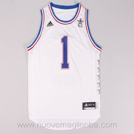 canotte basket NBA bianco Chris Bosh 2015 All Star