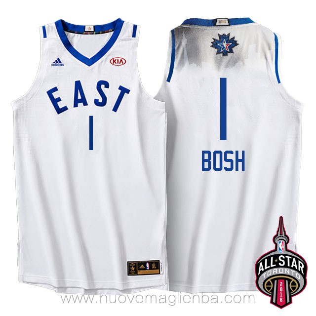 canotte basket NBA bianco Chris Bosh 2016 All Star