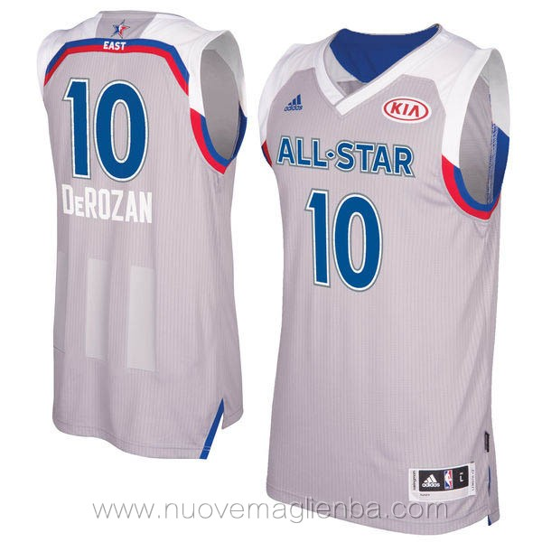 canotte basket NBA bianco DeMar DeRozan 2017 All Star