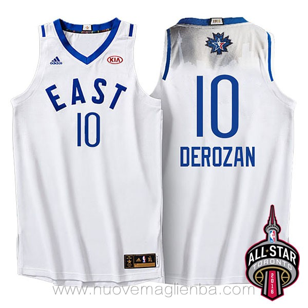 canotte basket NBA bianco Demar DeRozan 2016 All Star