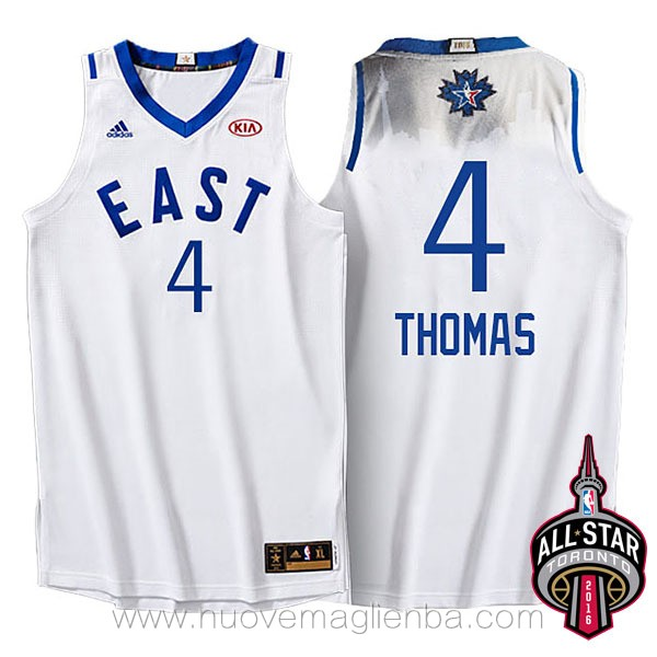 canotte basket NBA bianco Isaiah Thomas 2016 All Star