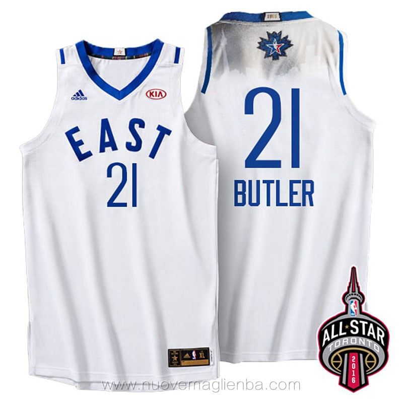 canotte basket NBA bianco Jimmy Butler 2016 All Star