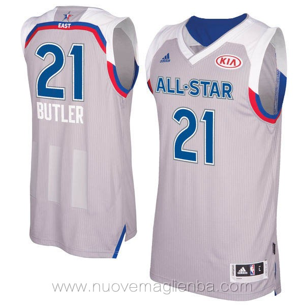 canotte basket NBA bianco Jimmy Butler 2017 All Star