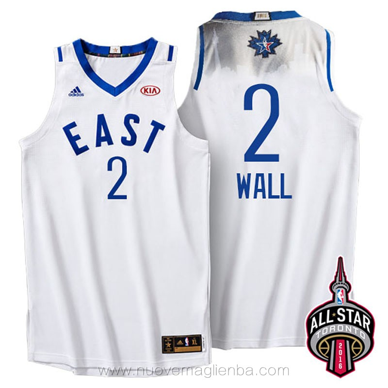 canotte basket NBA bianco John Wall 2016 All Star