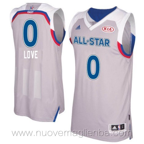 canotte basket NBA bianco Kevin Love 2017 All Star