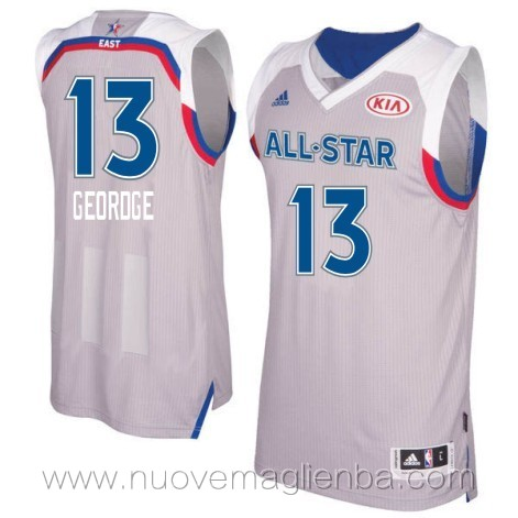 canotte basket NBA bianco Paul George 2017 All Star