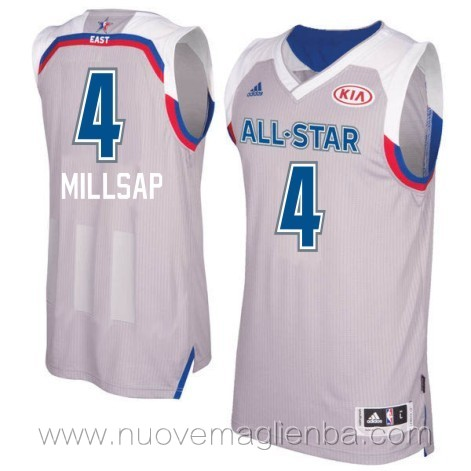canotte basket NBA bianco Paul Millsap 2017 All Star