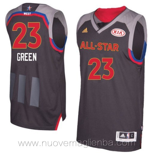 canotte basket NBA nero Draymond Green 2017 All Star