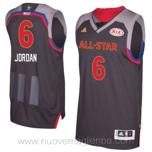 canotte basket NBA nero Jordan Brand 2017 All Star