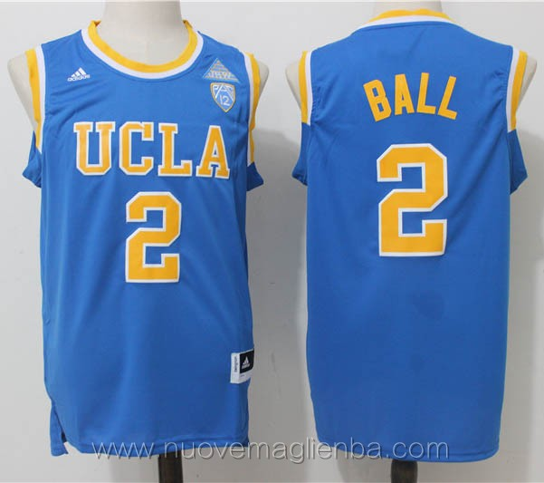 canotte basket NCAA blu Lonzo Ball UCLA Bruins