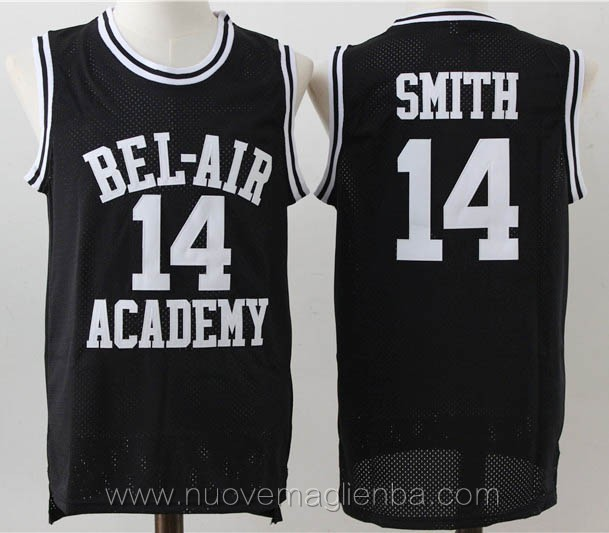canotte basket negro Will Smith bel-air Academy