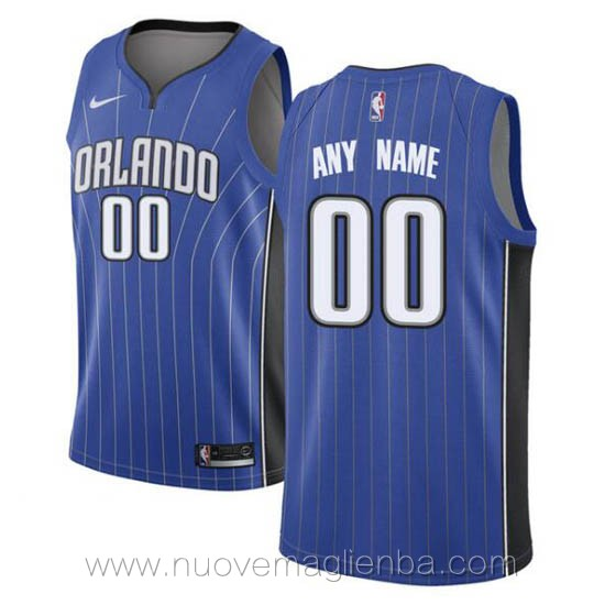 canotte basket personalizzate blu Orlando Magic