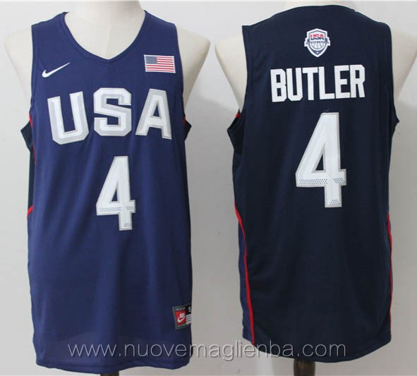 maglie basket USA blu Jimmy Butler 2016